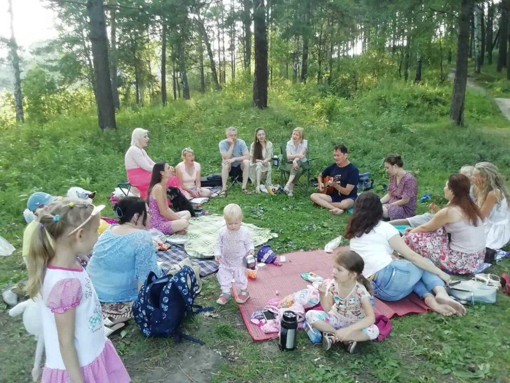 семейные пикники в Томске